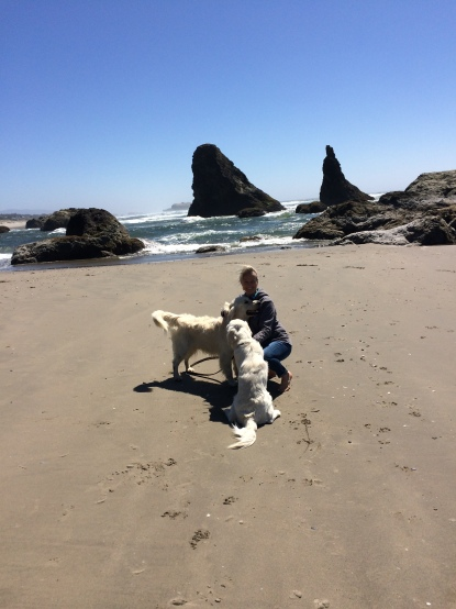 Frenk and Beau in Bandon