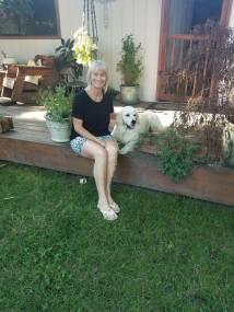 Nocha and I on deck
